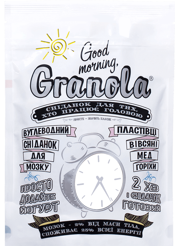Good morning Granola